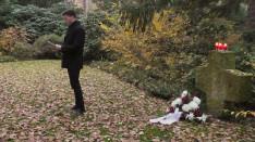 Juhos Barnabás, KCSP ösztöndíjas imádságot mond