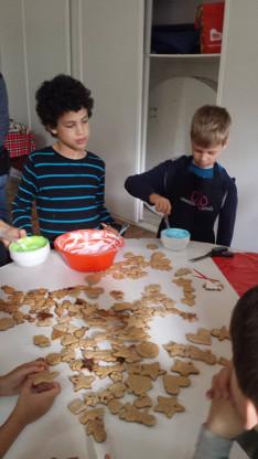 Mézeskalács sütés - színes máz, alkotói öröm