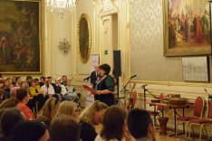 Nagy Eleonóra, a Bécsi Magyar Oktatást Segítő Szülők és Támogatók Egyesületének elnöke