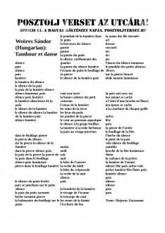 Weöres franciául