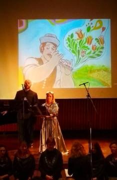János vitéz előadás: Gastón Oliveira Weckesser és Susana Moreno