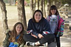 A tábor diákjai