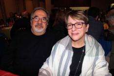 Kelemen Tibor és felesége; a Montreali Magyar Bizottság és a Hungaria Social Club elnöke