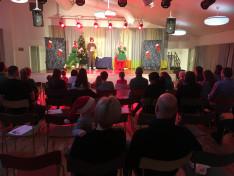 Mikulás ünnepség Uppsalában