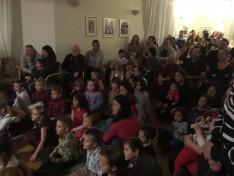 Mikulás ünnepség Stockholmban