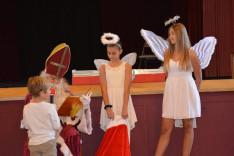 A Mikulás a los angeles-i cserkészeknél is járt