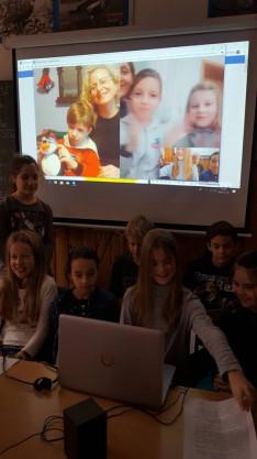 Budapesten a Virányos Általános Iskola tanulói mesét olvastak nekünk