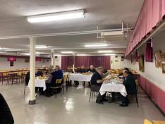 Püspök úr és az Atyák nagyon értékelték a finom magyar ebédet