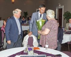 57. házassági évfordulója alkalmából köszöntötte Palkovics Valér Főkonzul úr Szőke János elnök és Szőke Gitta feleségét