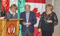 Rákóczió alapítvány elnöke megköszönte az Árpád ház vezetőségének a szerevzést