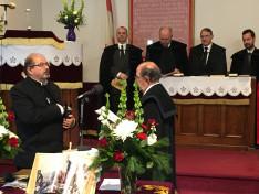 Demeter Zsolt egyházkerületi főgondnok eskütétele