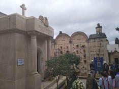 Magyar kápolna egy szicíliai temetőben