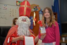 Mikulás a Hamiltoni Arany János Magyar Iskolában