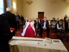 A Szent László Rend vitéz avatása
