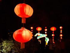 Kínai lámpák
