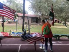 zászlóállítás