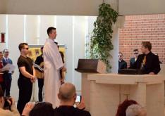 Jézus Kajafás főpap előtt