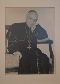 Fotó Mindszenty József bíborosról a Pázmáneumban