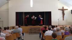 A délután folyamán széki táncokkal lépett fel a müncheni Regös Néptáncegyüttes
