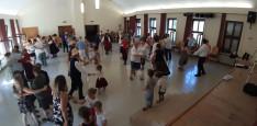 A kulturális programdélutánt jó hangulatú táncház zárta