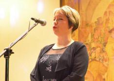 Spiller Krisztina közösségi diplomata nyitotta meg a jótékonysági bált