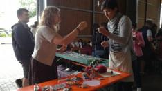 Kézműves műhely: gyöngyfűzés