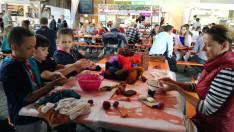 Kézműves műhely: nemezelés