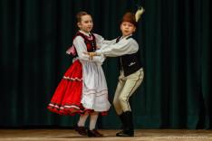 Dudás Lili és Kispál Domonkos néptáncbemutatója