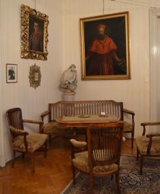 Mindszenty József bíboros dolgozószobája a Pázmáneumban