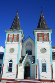 A békevári református templom