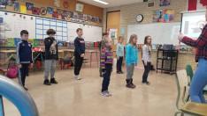 A közös tánc gyakorlása