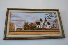 Festmény a békevári templomban