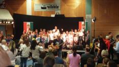 Gyerekkórus az Alma koncerten