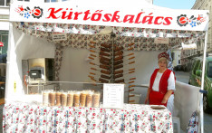 Kürtőskalács_Magyar piac Regensburg