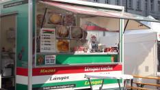 Lángos_Magyar piac Regensburg