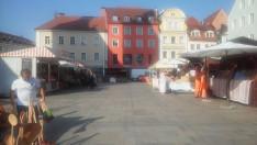 Neupfarrplatz_Magyar piac Regensburg