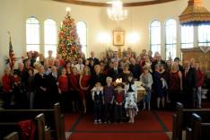 Karácsonyi csoportkép