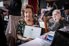Csutorás Júlia állami kitüntetett.