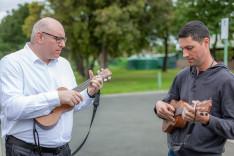 Egy gyors ukulele lecke.
