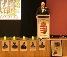 Fráter Olivér vezető konzul megnyitó beszéde