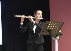 Németh Virág KCsP ösztöndíjas előadása a megemlékezésen