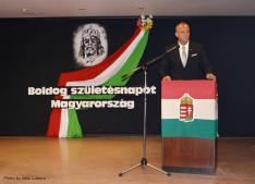 Fráter Olivér vezető konzul  beszéde