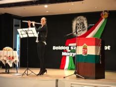Fuvolán játszik: Németh Virág KCSP ösztöndíjas