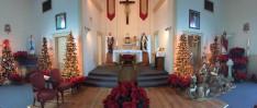 Így nézett ki az oltár a renoválás előtt