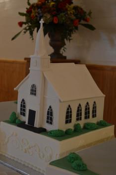 A Szent Margit templom marcipánból