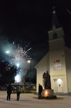 Hosszú és színes tűzijátékban volt részünk