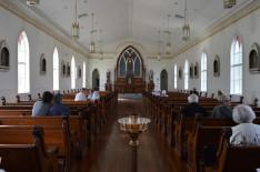 A templom új enteriőrje