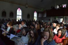 A hálaadó gyülekezet (részlet)