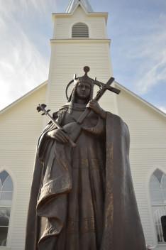 Skóciai Szent Margit szobra