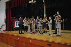 A hegedű tudásukat is fejlesztették a résztvevők